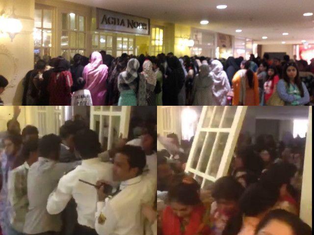 Women brawl at Agha Noor Sale
