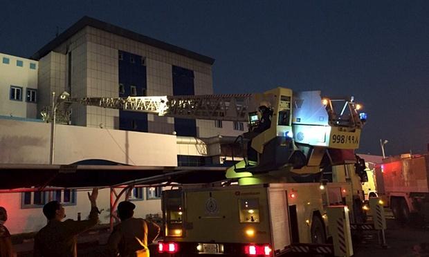 At least 25 dead in Saudi Arabia hospital fire