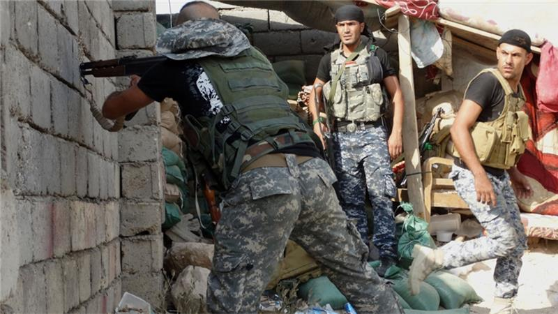 Iraqi forces launch attack on ISIL in Ramadi