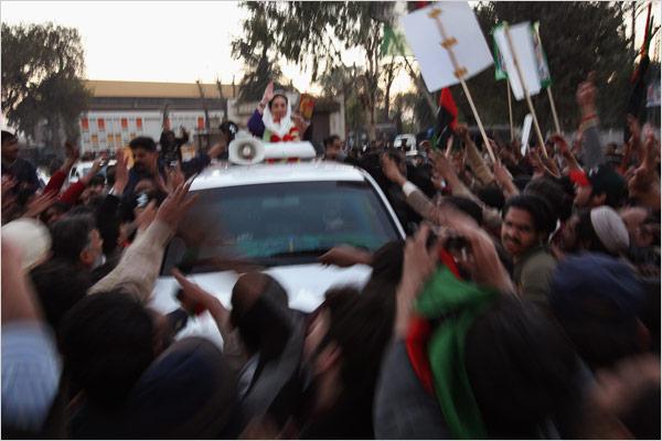 Killer of Benazir Bhutto