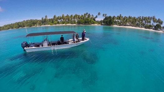 Marshall Islands still sinking