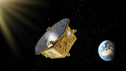 Gravitational wave test spacecraft launched