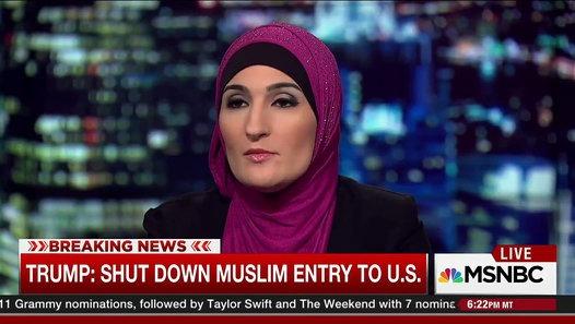 Muslim activist about Trump