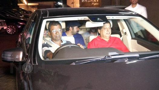 Celebs at Salman's Home