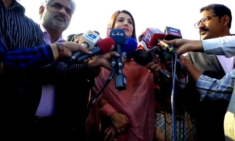 Reham Khan returns to Pakistan
