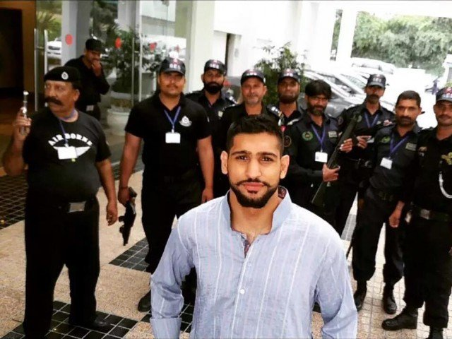 Amir Khan's visit to K7 Academy