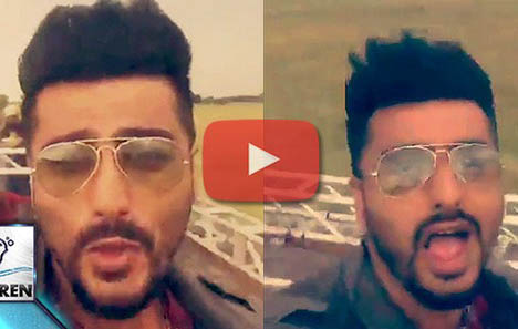 Arjun Kapoors DUBSMASH For Ranveer Singh