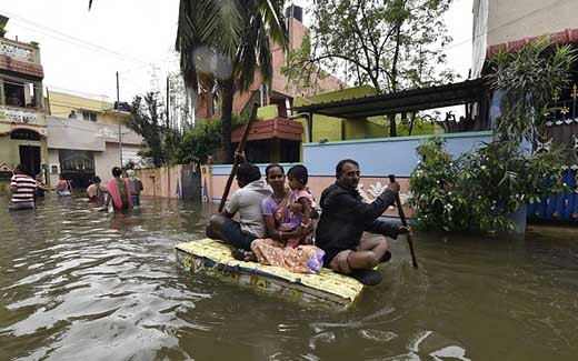 Death toll in India rains and floods reaches 269