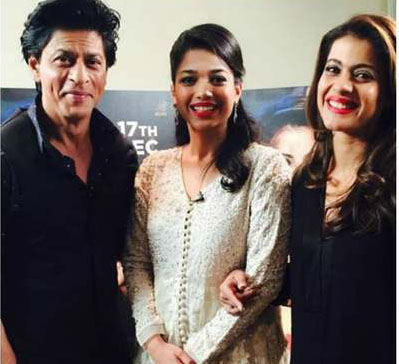 Team Dilwale with Sanam Jang
