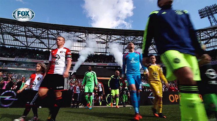 Feyenoord-Ajax One-take shot Fox Sports