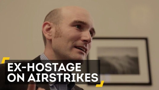 Former ISIS hostage warns against airstrikes