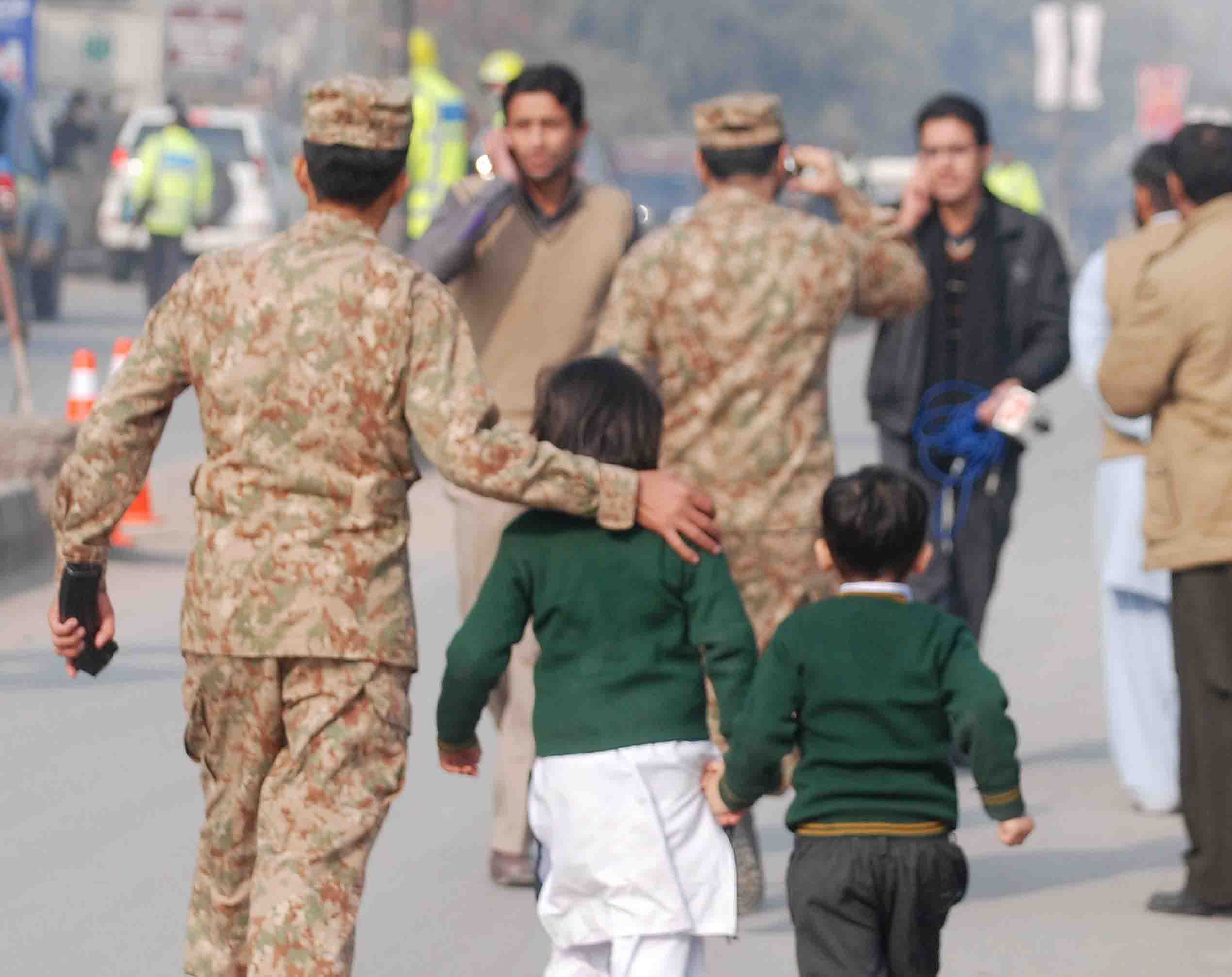 ISPR makes documentary of APS martyrs
