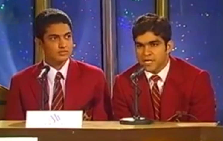 Iqrar ul Hasan's first appearance on TV