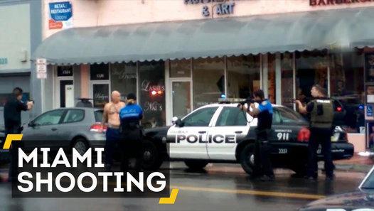 Razor-wielding man shot dead by police