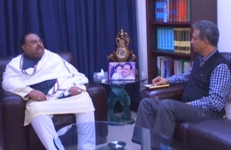 Waseem Akhtar meets Altaf Hussain