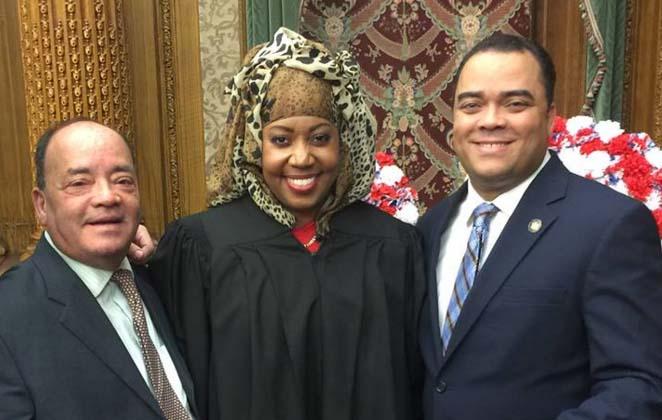 NY: Muslim woman sworn in as Civil Judge
