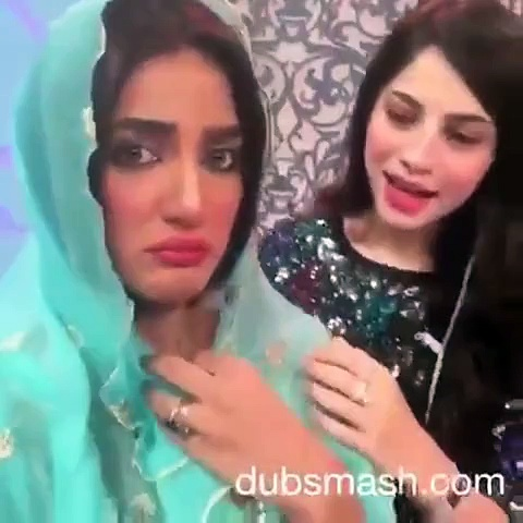Dubsmash: Neelum Munir and Mathira