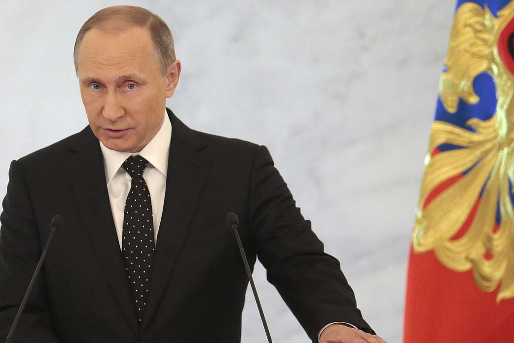 Perhaps only Allah knows why Turkey down jet: Putin