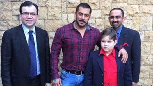 Salman Khan fulfilled a Pakistani child's wish