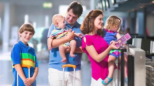 Tips for easy airline travel with children