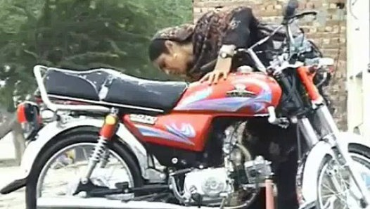 Courageous woman of Pakistan