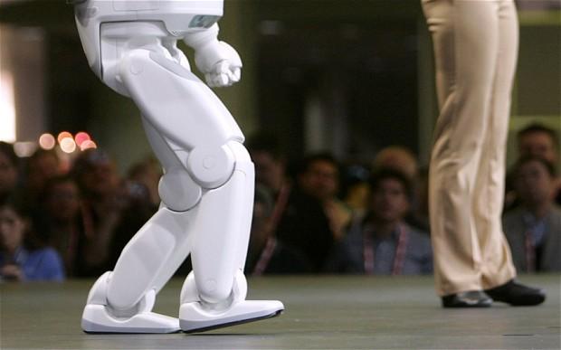 Robot imitating human behavior