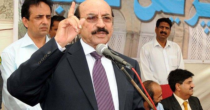 CM Sindh complains about Rangers
