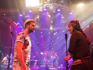 Gul Panrra & Atif Aslam, Man Aamadeh Am, Coke Studio