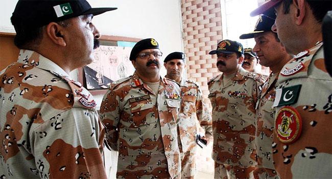 DG Rangers Sindh media talk