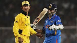Sachin Tendulkar and Ricky Ponting