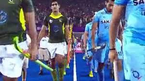 India vs Pakistan Hockey semi final Highlight
