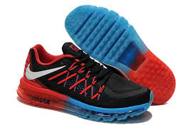 Air Max 2015 Red Black Blue Tecnology Shoes