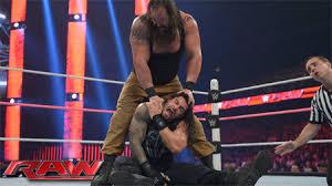 Roman Reigns vs Braun Stroman