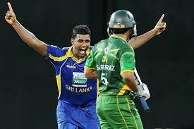 Thisara Parera Hat-Trick vs Pakistan in ODI