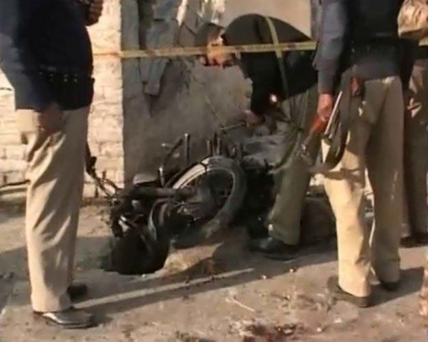 Blast At NADRA Office In Mardan