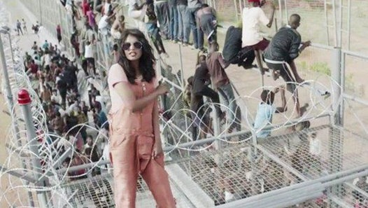 M.I.A. tests the 'Borders' with new Song