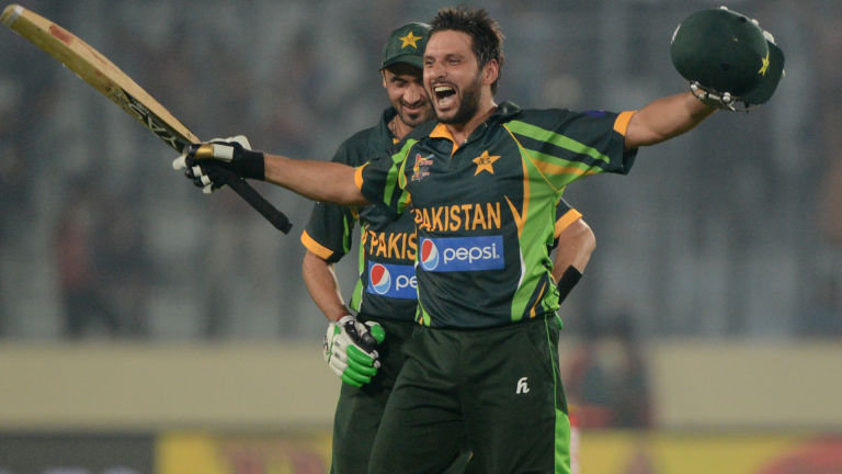 The sixer Machine Shahid Afridi