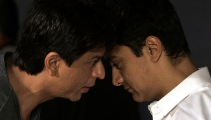 SRK's support for Aamir Khan
