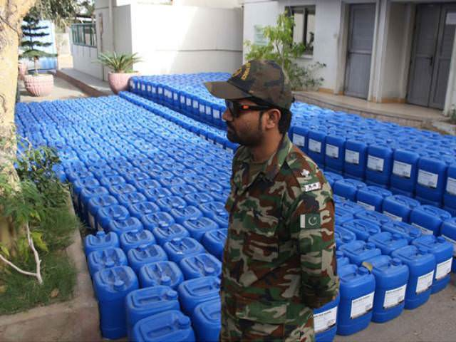 Customs Authoritites Seize Chemicals Used In Making IEDs