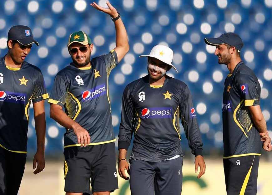 Pakistan Team final practice ahead of 1st T20