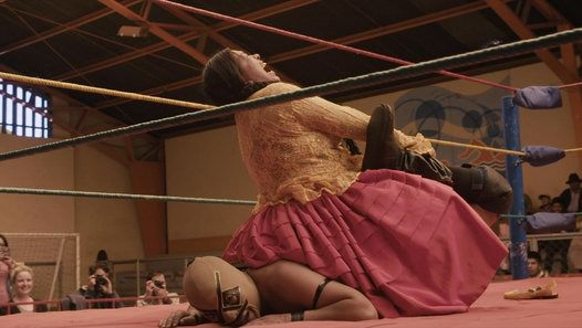 The wrestling cholita