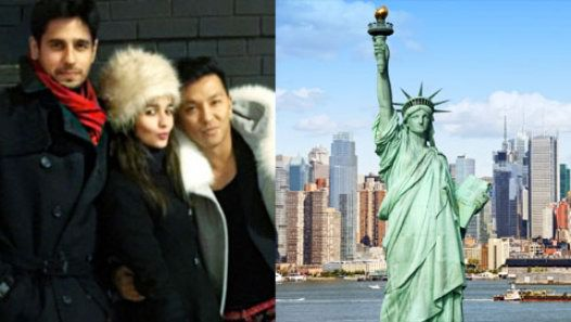 Sidharth Malhotra And Alia Bhatt Spotted Together In New York