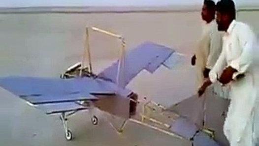 Pakhtun Guys Design Airplane