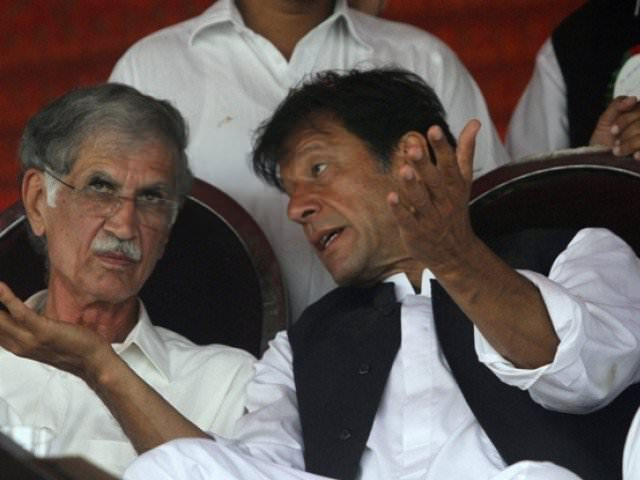Pervez Khattak doesn't obey to Imran Khan