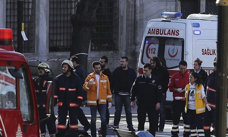Bomb Blast In Istanbul