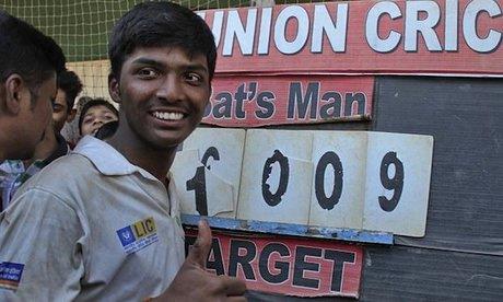 1000 runs in an Inning by a Batsman