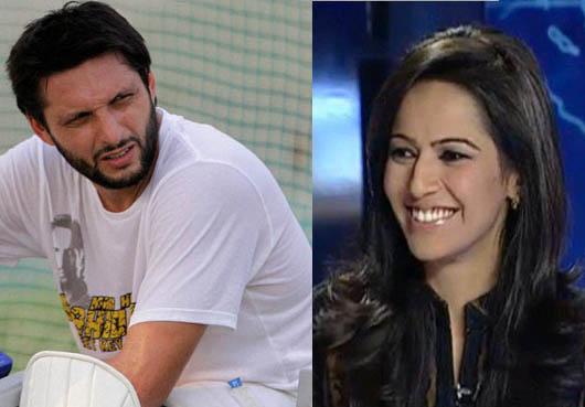 Afridi becomes rude with Ayesha Baksh