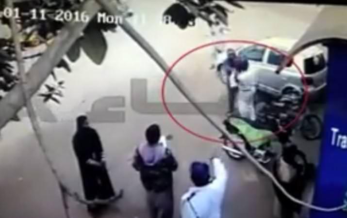 CCTV Footage Of Brawl B/W Shafiq And Policemen