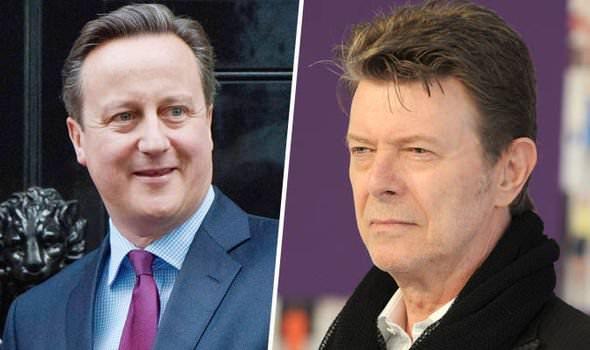 Radio presenter announces David Cameron's death instead of David Bowie