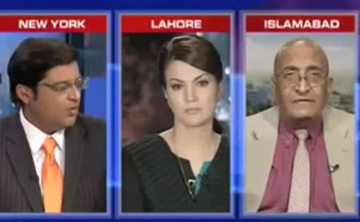 Reham Khan Remains Silent In a Hot Debate